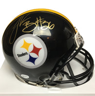 LeVeon Bell Signed Pittsburgh Steelers Mini Helmet