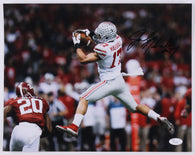 Jalin Marshall Ohio State Buckeyes Signed 11x14 Photo (JSA)