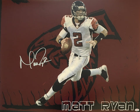 Matt Ryan Signed Atlanta Falcons 16x20 Photo