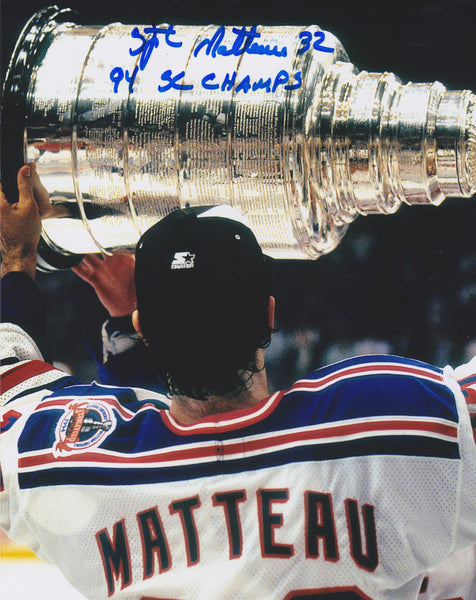 Stephane Matteau Signed 8x10 Photo (JAG)