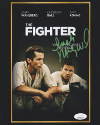 Irish Micky Ward Signed The Fighter 8x10 Movie Poster Photo (JSA)