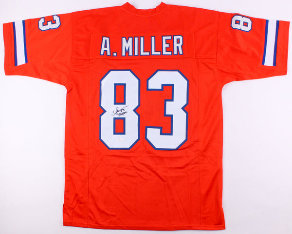 Anthony Miller Signed Denver Broncos Jersey Inscribed 5x Pro (JSA)