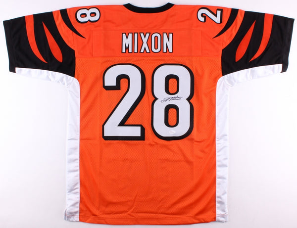 Joe Mixon Signed Cincinnati Bengals Orange Jersey (JSA)