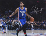 Jahlil Okafor Signed Philadelphia 76ers 16x20 Photo (Schwartz)