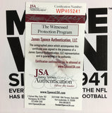 Vince Papale Philadelphia Eagles Signed Football Inscribed Invincible (JSA)