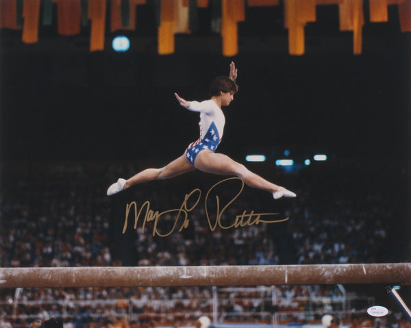 Mary Lou Retton Signed Team USA 16x20 Photo (JSA)