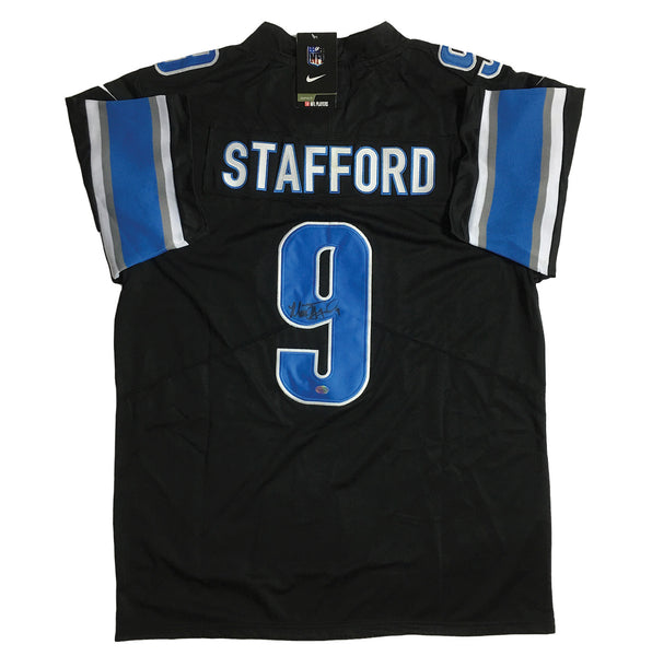 Matthew Stafford Signed Detroit Lions Nike On-Field Jersey