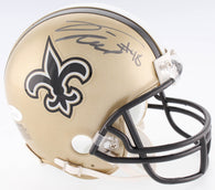 Vonn Bell Signed New Orleans Saints Mini Helmet (JSA)