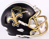 Vonn Bell Signed New Orleans Saints Blaze Mini Speed Helmet (JSA)