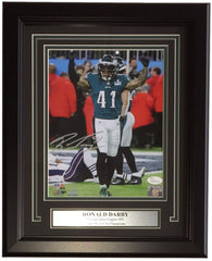 Ronald Darby Signed Eagles 13.25x16.25 Custom Framed Super Bowl LII Photo Display (JSA)