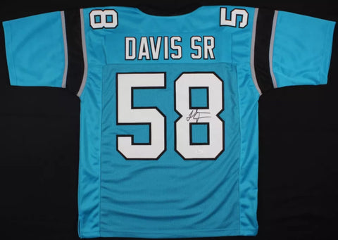 Thomas Davis Sr Signed Carolina Panthers Jersey (JSA)