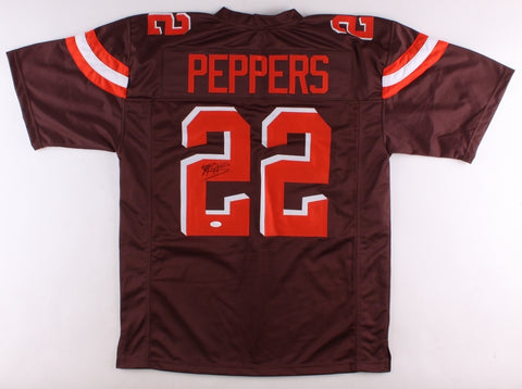 Jabrill Peppers Signed Cleveland Browns Jersey (JSA)