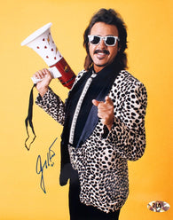 Jimmy Hart Signed WWE 8x10 Photo (MAB)