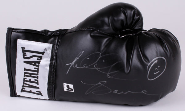 Riddick Bowe Signed Everlast Black Boxing Glove (Bowe COA)