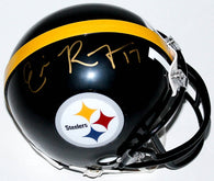 Eli Rogers Signed Pittsburgh Steelers Mini Helmet (TSE)