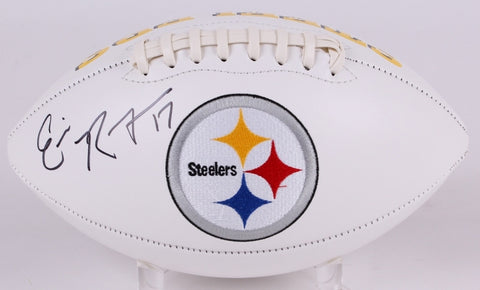 Eli Rogers Signed Pittsburgh Steelers Logo Football (TSE)