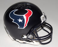 Lamar Miller Signed Houston Texans Mini Helmet (JSA)