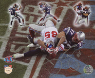 David Tyree Signed Miracle in The Desert Super Bowl XLII 8x10 Photo (Gridiron Legends)