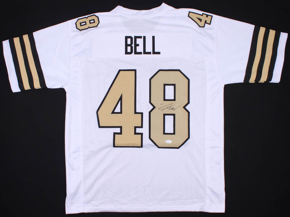differently 60ccf 24d21 Vonn Bell Signed New Orleans Saints Jersey (JSA)