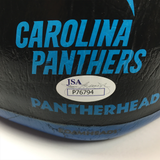 Luke Kuechly Signed Carolina Panthers Foam Head (JSA)