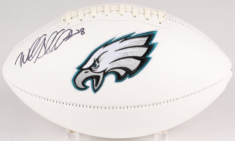 Wendell Smallwood Signed Philadelphia Eagles Logo Football (JSA)
