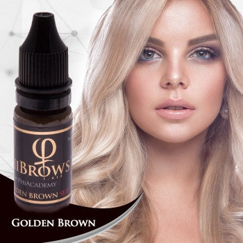 Golden Brown SUP Microblading Colour Pigment 10ml