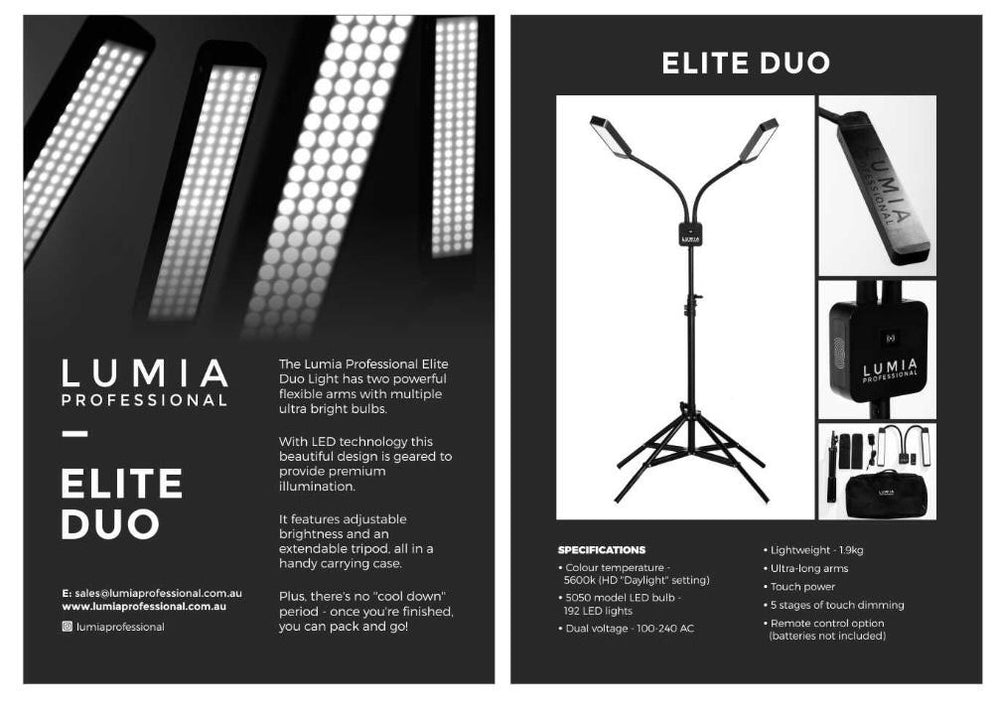 Lumia Professional Light 'The Elite Duo'
