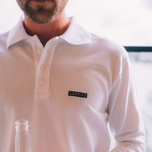 The Original Polo - Long Sleeve - White