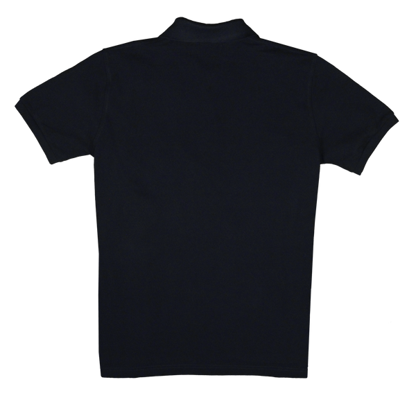 Cotton Polo - Short Sleeve - Black