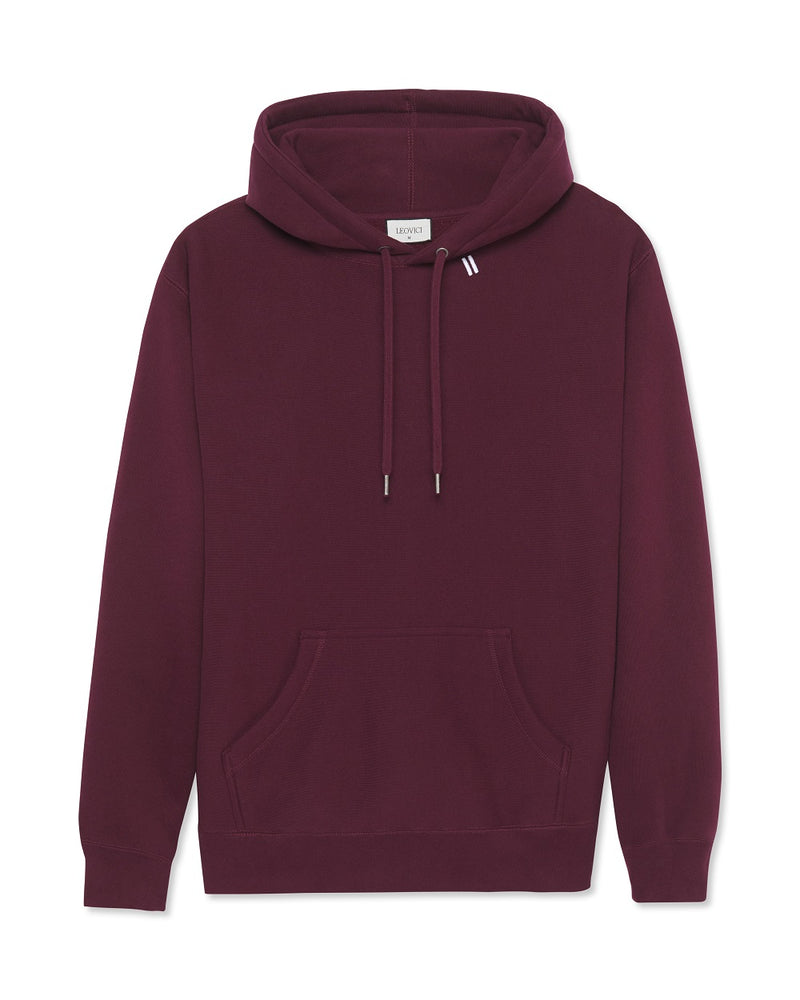 The Staple Hoodie - Deep Maroon