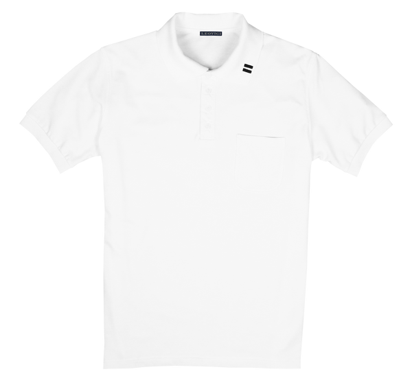 Lightweight Polo - Short Sleeve - White