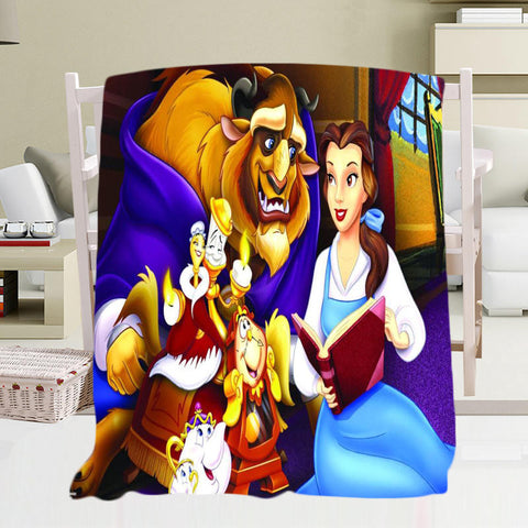📍BEAUTY AND THE BEAST BLANKET