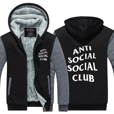 📍ANTI SOCIAL CLUB HOODIE FOR MEN