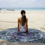 📍BOHEMIAN BEACH/ PLAYA TOWEL (ROUND)