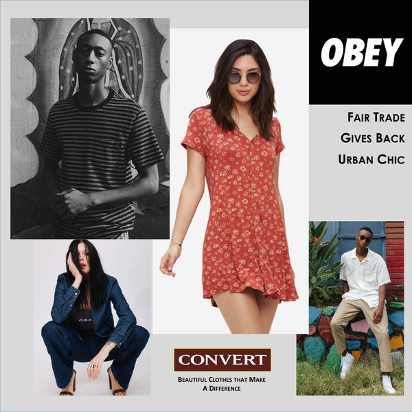 Obey Debuts Spring with New Fair Trade Styles