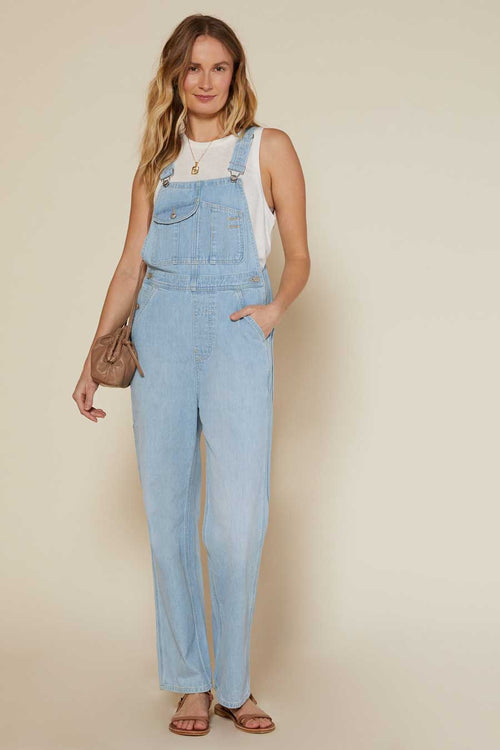 If you love overalls (or have never worn them before), you will treasure the Voyage Overalls from Outerknown.  Wear these organic cotton overalls over a tee or tank top or even bikini top, and you'll be stylish and comfortable.