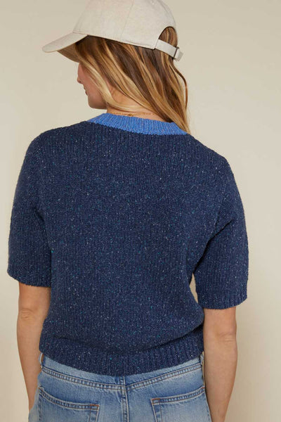 Outerknown Sidney sweater made from organic cotton linen and silk
