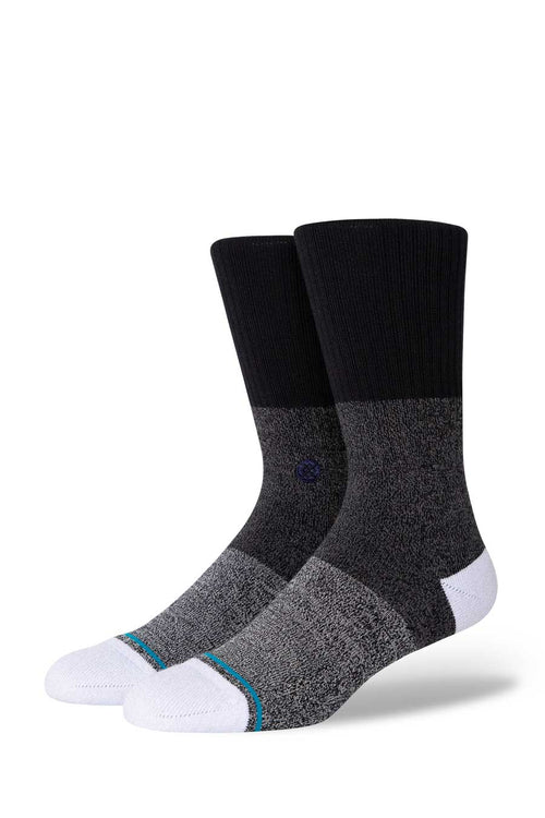 Stance's Infiknit™ technology prevents sock from tearing or ripping. Stance offers a life time guarantee and will replace any pair that lets you down (in the rare chance that ever happens).  A classic sock reaching mid calf