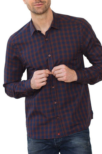 Organic cotton button up shirt
