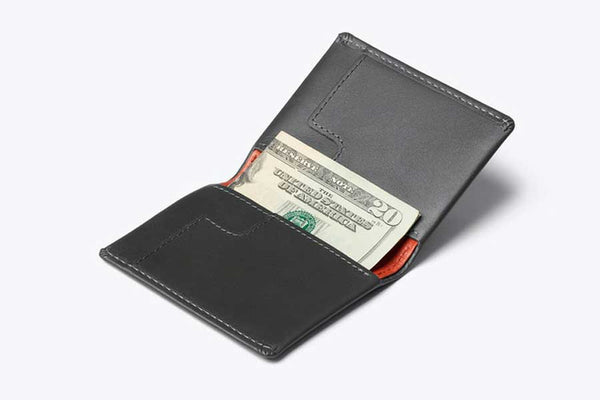 Bellroy Slim sleeve wallet with environmentally certified premium leather