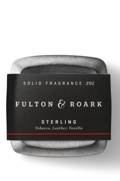 Sterling Solid Cologne