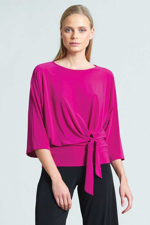 made in USA top easy for travel and very flattering silhouette