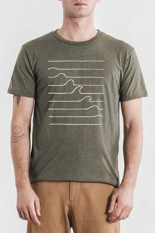 Wave Formation Tee