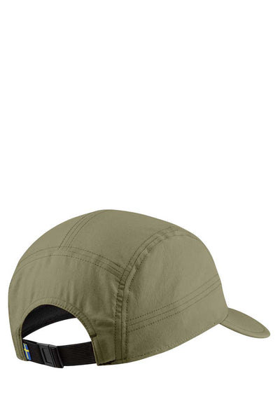 The Abisko Lite Cap from Fjallraven is made from well ventilated recycled polyester and dry quickly.  Perfect for hikes in warmer weather.