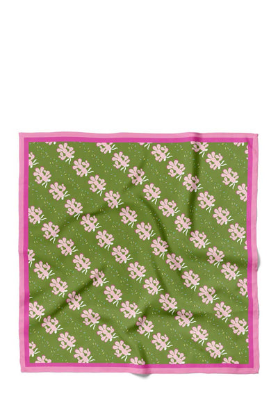 The Prinkley Cactus bandana by Centinelle is made from a cotton/silk blend twill and celebrates a festive and favorite desert icon.