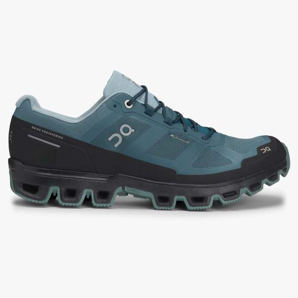 Cloudventure Waterproof Trail Runner - Storm | Cobble (mens)