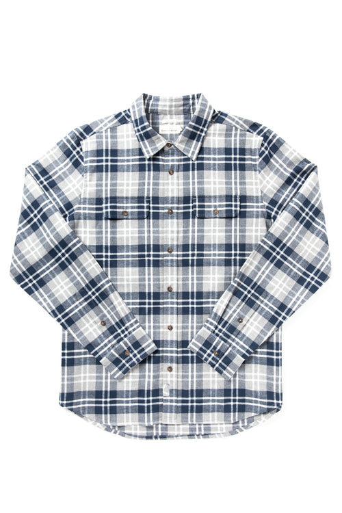 Cole - navy grey plaid