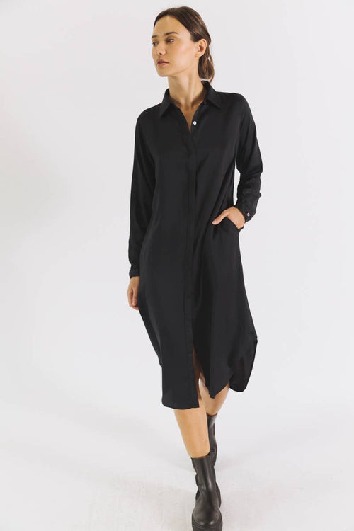 TENCEL™ shirt dress