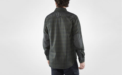 Ovik Rewool Shirt - dark grey