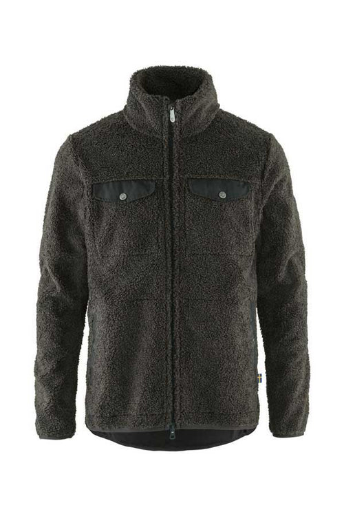 Greenland Pile Fleece Jacket - dark grey